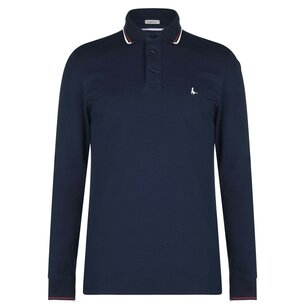 Jack Wills Birchgrove Long Sleeves Polo Shirt