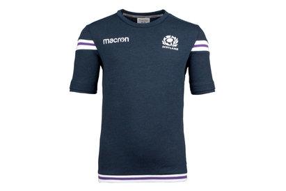 Macron Scotland 2017/18 Kids S/S Polycotton Rugby T-Shirt