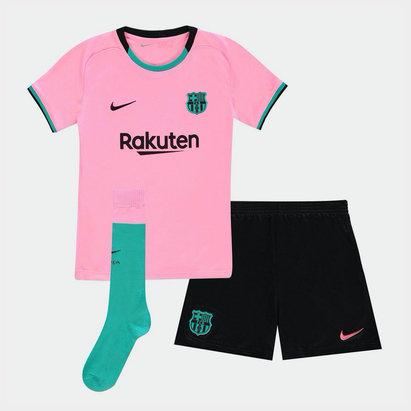 Nike Barcelona Third Mini Kit 20/21