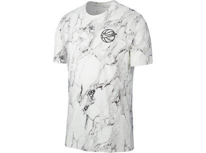 Nike HBR Mens Printed Basketball T Shirt
