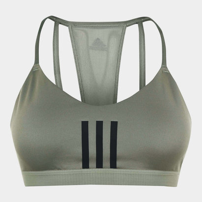 adidas 3 Stripe Mesh Bra Ladies