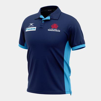 X Blades NSW Waratahs 2020 Players Media Super Rugby Polo Shirt