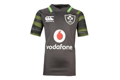 Canterbury Ireland IRFU 2017/18 Kids Alternate Pro S/S Replica Rugby Shirt
