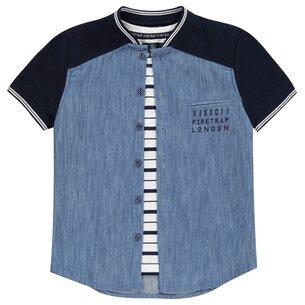 2 Piece Shirt Junior Boys