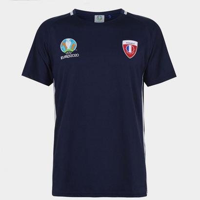 UEFA Euro 2020 France T Shirt Mens