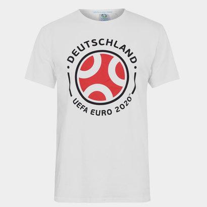 UEFA Euro 2020 Germany Graphic T-Shirt Mens