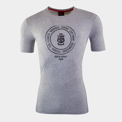 Canterbury British and Irish Lions Graphic T Shirt Mens