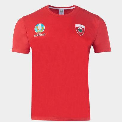 UEFA Euro 2020 Wales T-Shirt Mens