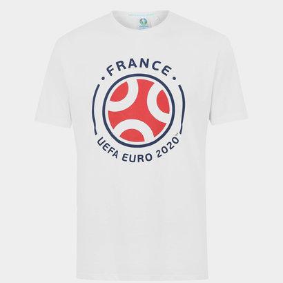 UEFA Euro 2020 France Graphic T-Shirt Mens