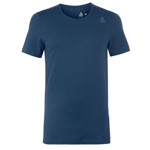 Reebok Perforated Cotton T Shirt Mens
