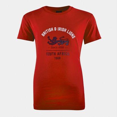 Canterbury British and Irish Lions Graphic T Shirt Junior