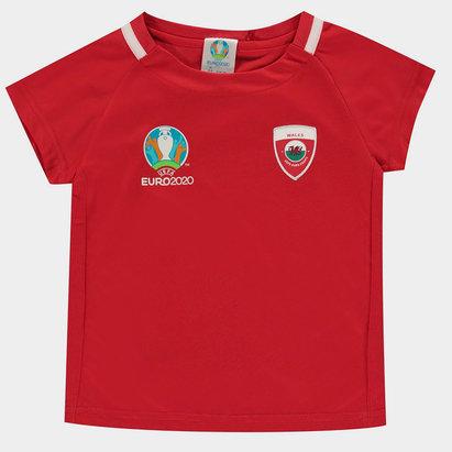 UEFA Euro 2020 Wales Polyester T Shirt Infants