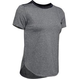 Under Armour Short Sleeve Sport T Shirt Ladies