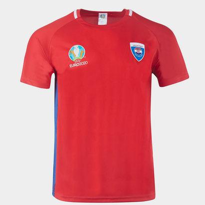 UEFA Euro 2020 Croatia Polyester T Shirt Mens
