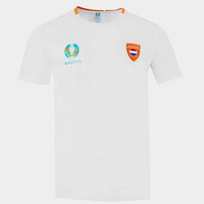 UEFA Euro 2020 Netherlands T Shirt Mens