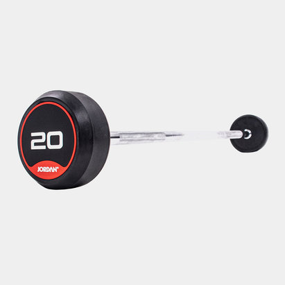 Jordan 20kg Classic Rubber Barbell with Straight Bar