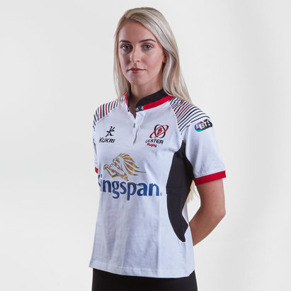 Kukri Ulster 2017/19 Ladies Home S/S Cotton Replica Rugby Shirt