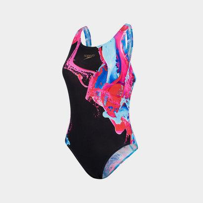 Speedo Flood Power Swimsuit Ladies