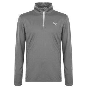 Puma Icon Quarter Zip Pullover Mens