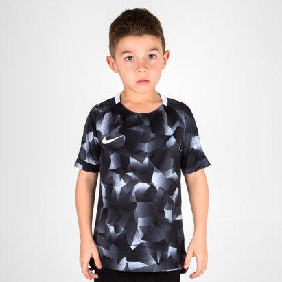 Nike Dry Fit Kids Squad S/S Football Shirt