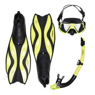 Gul Mask Snorkel And Fin Set Adults