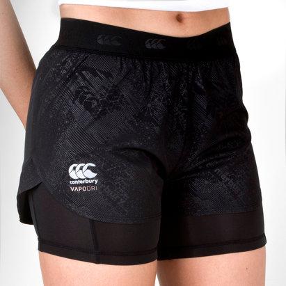 Canterbury Vapodri 2 in 1 Ladies Training Shorts