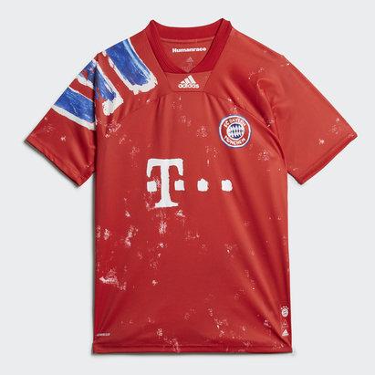 adidas Bayern Munich Humanrace FC Shirt Junior