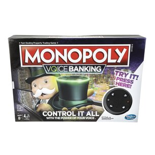 Hasbro Voice Banking Monopoly