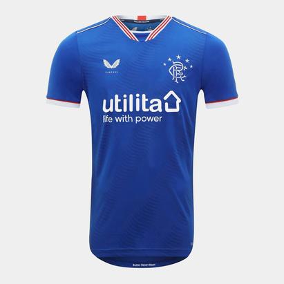 Castore Rangers Home Shirt 2020 2021 Junior