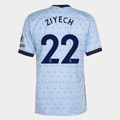 Nike Chelsea Hakim Ziyech Away Shirt 20/21 Mens