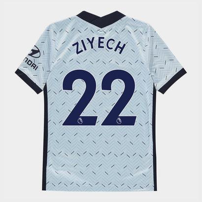 Nike Chelsea Hakim Ziyech Away Shirt 20/21 Kids
