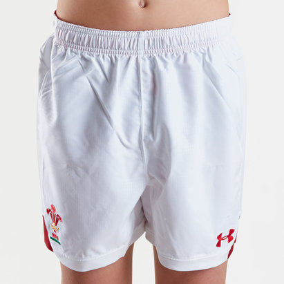 Under Armour Wales WRU 2018/19 Kids Home Replica Shorts