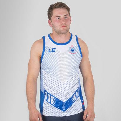 LE Sportswear Samoa 2017 Players Rugby Training Singlet