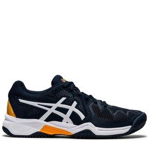 Asics Resolution 8 Junior Tennis Shoes