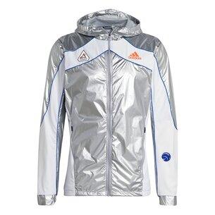 adidas Space Race Running Jacket Mens