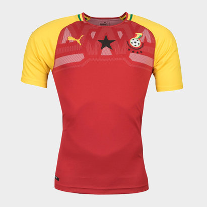 Puma Ghana 17/18 Home S/S Replica Football Shirt