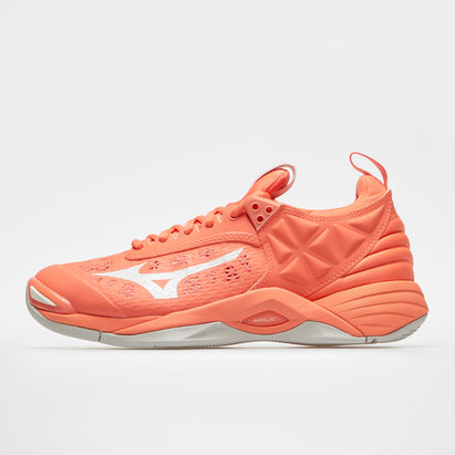 Mizuno Wave Momentum Ladies Netball Trainers