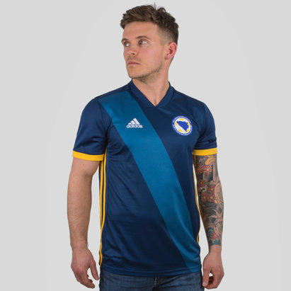 adidas Bosnia & Herzegovina 2018 Home S/S Replica Football Shirt