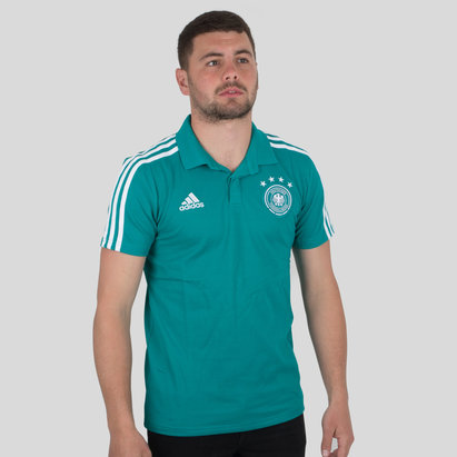 adidas Germany 2018 Climalite Football Polo Shirt