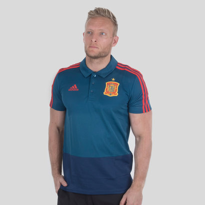 adidas Spain 2018 Climalite Football Polo Shirt