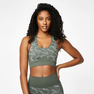 Everlast Camo Sports Bra Ladies