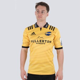 adidas Hurricanes 2019 Home Super Rugby S/S Rugby Shirt