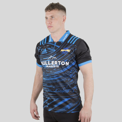 adidas Hurricanes 2019 Super Rugby S/S Training Shirt