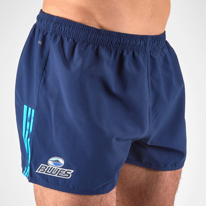 adidas Blues 2019 Home Super Rugby Players Rugby Shorts