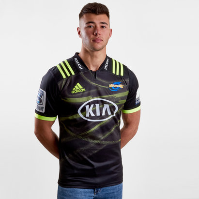 adidas Hurricanes 2019 Alternate Super Rugby S/S Rugby Shirt