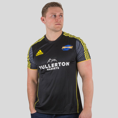 adidas Hurricanes 2019 Players Super Rugby Performance T-Shirt