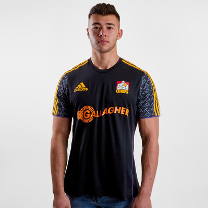 adidas Chiefs 2019 Players Super Rugby Performance T-Shirt