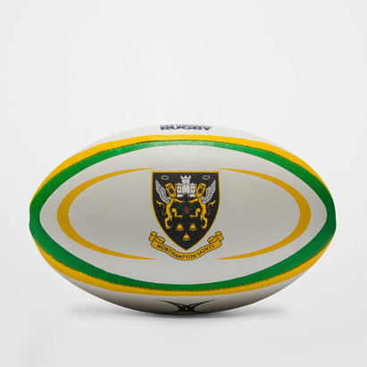 Gilbert Northampton Saints Replica Rugby Ball