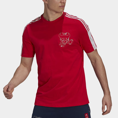 adidas Arsenal Chinese New Year T Shirt Mens
