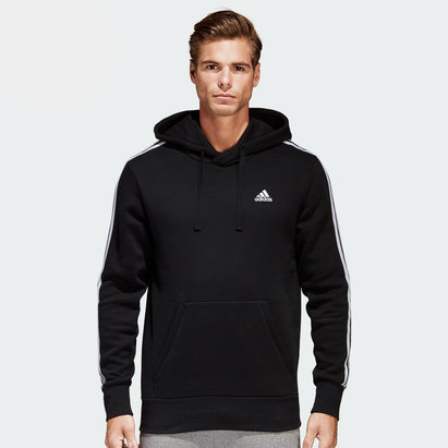 adidas Essentials 3 Stripes Hooded Sweat